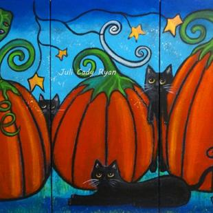 Art: A Frolicking Fall by Artist Juli Cady Ryan