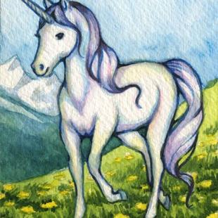Art: Purity ACEO - Available by Artist Carmen Medlin