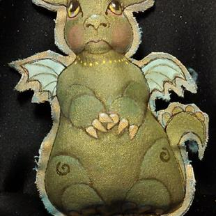 Art: dragon Baby by Artist Catherine Darling Hostetter