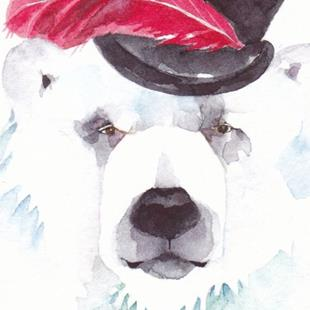 Art: 'TOP BEAR' by Artist Gretchen Del Rio