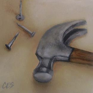 Art: The Handy Man by Artist Christine E. S. Code ~CES~