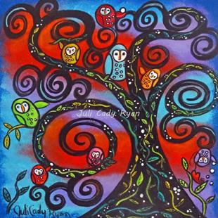 Art: Family Tree by Artist Juli Cady Ryan