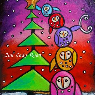 Art: The Spirit of the Season by Artist Juli Cady Ryan