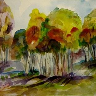 Art: Fall Color by Artist Delilah Smith