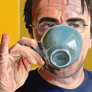 Art: A Nice Cup Of Tea by Artist Mark Satchwill
