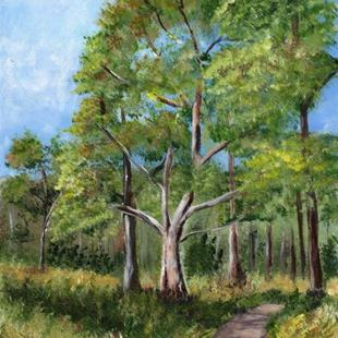 Art: Bush Walk by Artist Janet M Graham