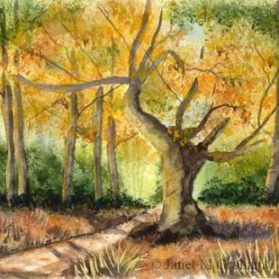 Art: Autumn Begins by Artist Janet M Graham