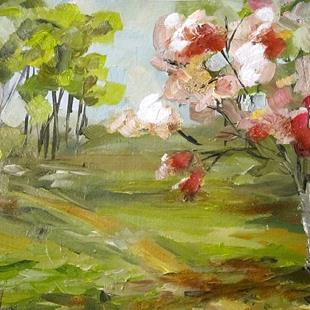Art: Pink Blossoms by Artist Delilah Smith