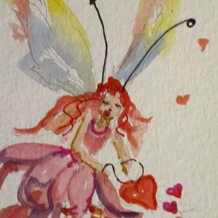 Art: Give your Heart Fairy by Artist Delilah Smith