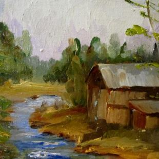 Art: Old Mill by Artist Delilah Smith