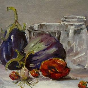 Art: Fruit Jar Still Life by Artist Delilah Smith