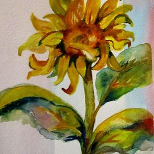 Art: Sunflower no. 3 by Artist Delilah Smith