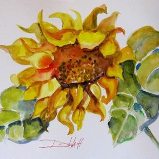 Art: Happy Sunflower by Artist Delilah Smith