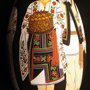 Art: Bukovyna Dancers Korovai by Artist So Jeo LeBlond