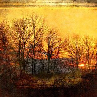 Art: At Sunset by Artist Carolyn Schiffhouer