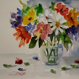 Art: Spring Flowers by Artist Delilah Smith