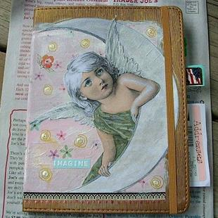 Art: Angel Journal-Sold by Artist Sherry Key