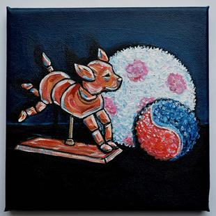 Art: Still Life - Dog Stuff 1 by Artist Melinda Dalke