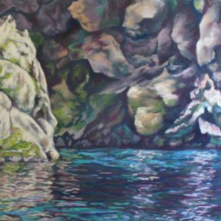 Art: The Grotto by Artist Carroll