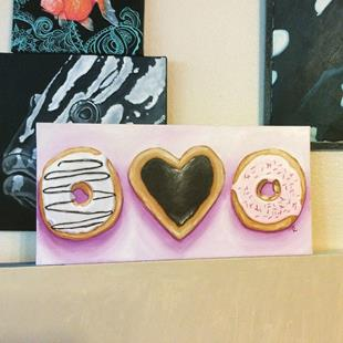 Art: Time to Paint the Donuts by Artist Tabatha  Rhodes