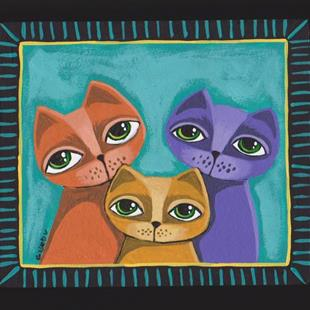 Art: My Cats by Artist Cindy Bontempo (GOSHRIN)