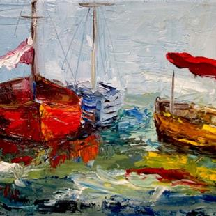 Art: Nautical Expressions by Artist Delilah Smith