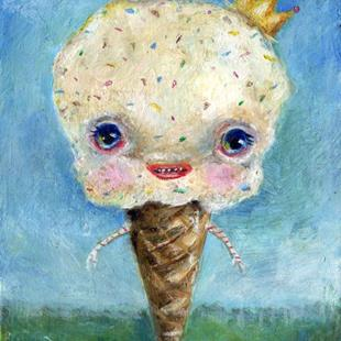 Art: Icecreamio by Artist Vicky Knowles