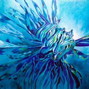 Art: LIONFISH 3624 by Artist Marcia Baldwin
