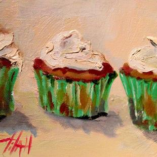 Art: Irish Cupcakes by Artist Delilah Smith
