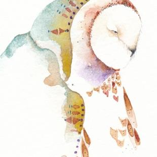 Art: 'GRANDMOTHER OWL' by Artist Gretchen Del Rio