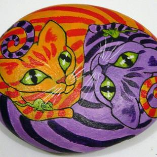 Art: Korpita Kats by Artist Tracey Allyn Greene