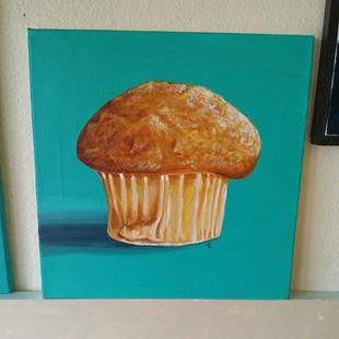 Art: Muffin To Worry About by Artist Tabatha  Rhodes