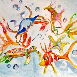 Art: Sea Life by Artist Delilah Smith