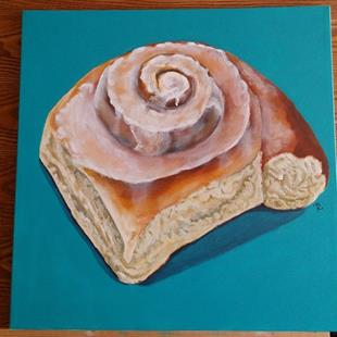 Art: Bun of Your Business by Artist Tabatha  Rhodes