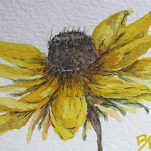 Art: Black Eyed Susan-SOLD by Artist Bonnie Pankhurst