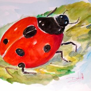 Art: Mr Lady Bug by Artist Delilah Smith