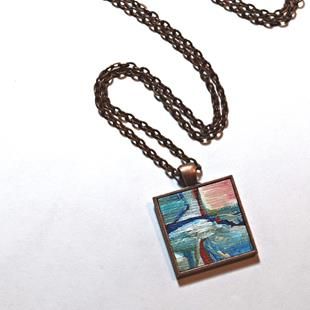 Art: Rice Field ~ Original Wearable Art by Artist Dana Marie