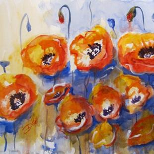 Art: A Passion for Poppies by Artist Delilah Smith