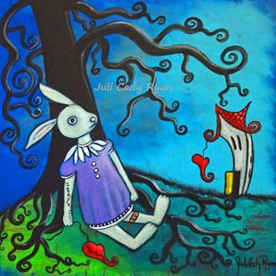 Art: What the Rabbit Knows by Artist Juli Cady Ryan