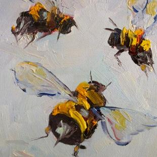Art: Bees Knees No 4 by Artist Delilah Smith