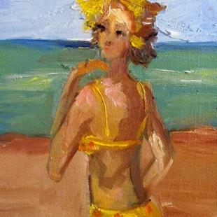 Art: Bikini Girl by Artist Delilah Smith
