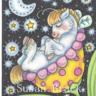 Art: WHIMSYNICKER LULLABY by Artist Susan Brack