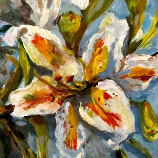 Art: Summer Lily-sold by Artist Delilah Smith