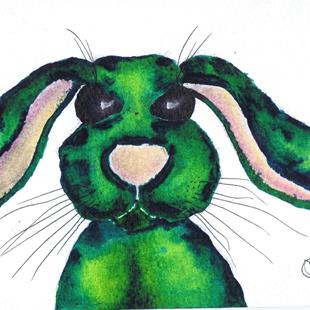 Art: HARE h3036 by Artist Dawn Barker