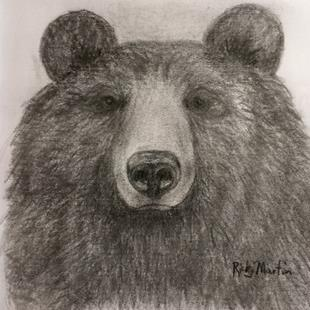 Art: Bear by Artist Ulrike 'Ricky' Martin
