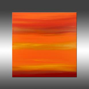 Art: Sunset 20 by Artist Hilary Winfield
