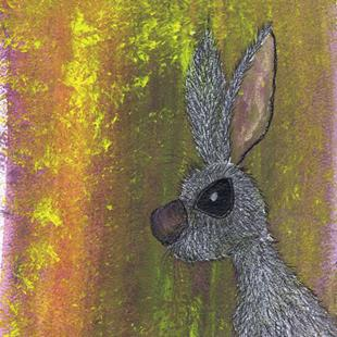 Art: HARE h3043 by Artist Dawn Barker