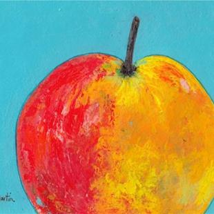 Art: Apple - sold by Artist Ulrike 'Ricky' Martin