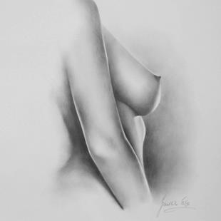 Art: Female Nude by Artist Ewa Kienko Gawlik