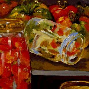 Art: Canning Jars by Artist Delilah Smith